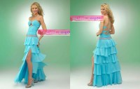 Prom Dresses Blue And Green