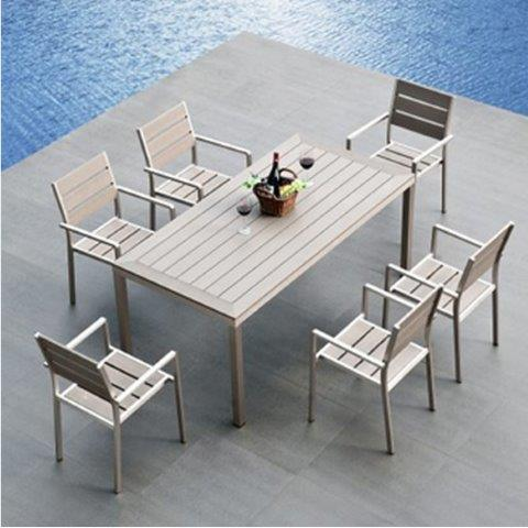 hot item king patio leisure new arrival superior quality leisure garden aluminum rattan chair and table for glass outdoor patio table set furniture
