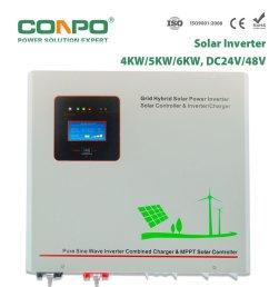 china sci 4000w 5000w 6000w 24v 48 mppt30a 60a wall mounted hybrid solar inverter built in mppt solar controller transformer base china solar  [ 1000 x 1000 Pixel ]