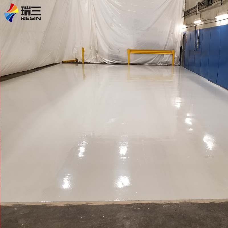 China Industrial Color Epoxy Floor Coating Finish Paint Used For Garage China Flooring Coating