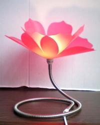 Vellum Lamp Shades: Kenroy Home 3332 Wrightlight Table Lamp