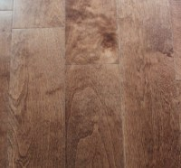 China Solid and Engineered Birch Wood Flooring