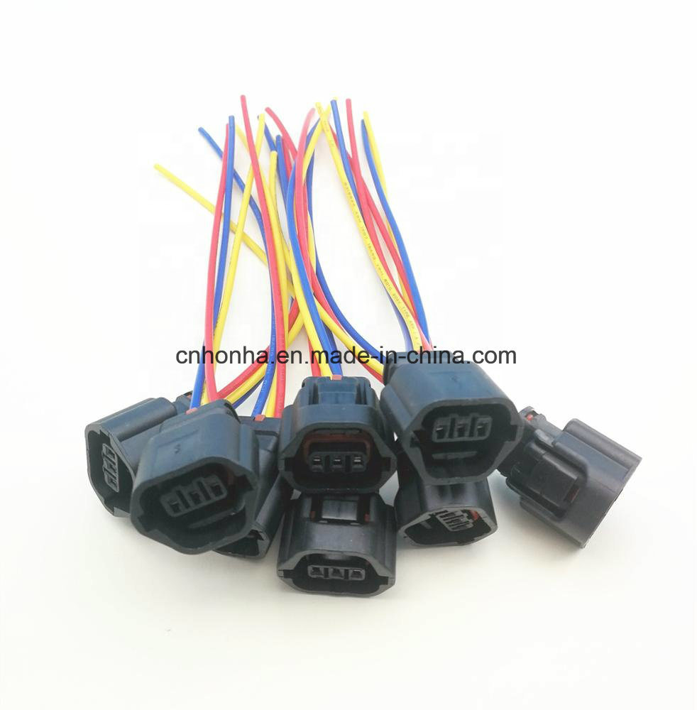 medium resolution of china 3 pin mitsubishi evo mivec cam sensor connector automotive wire harness china wire harness auto wire harness