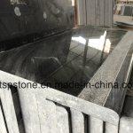 China Anti Slip Black Granite Steps Staircase For Outside China Granite Stair Granite Step