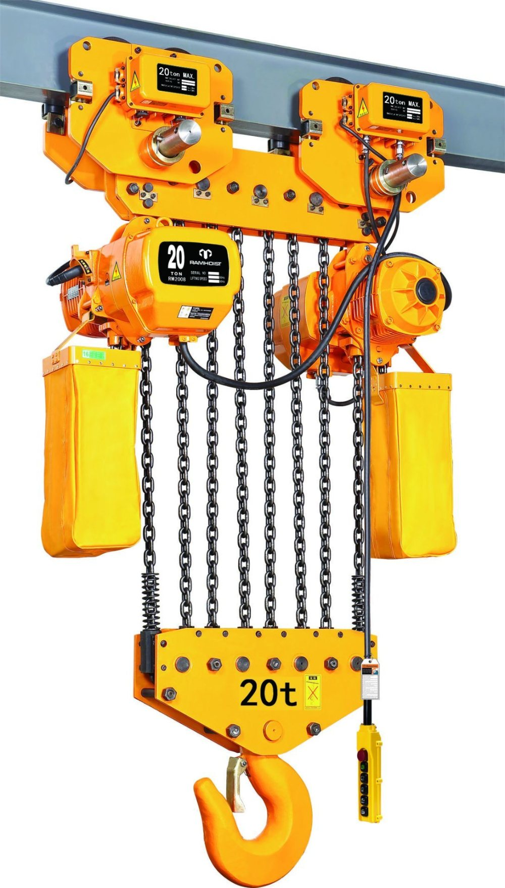 medium resolution of china 1t hanging electric chain hoist for single girder overhead crane with trolley china electric chain hoist chain hoist
