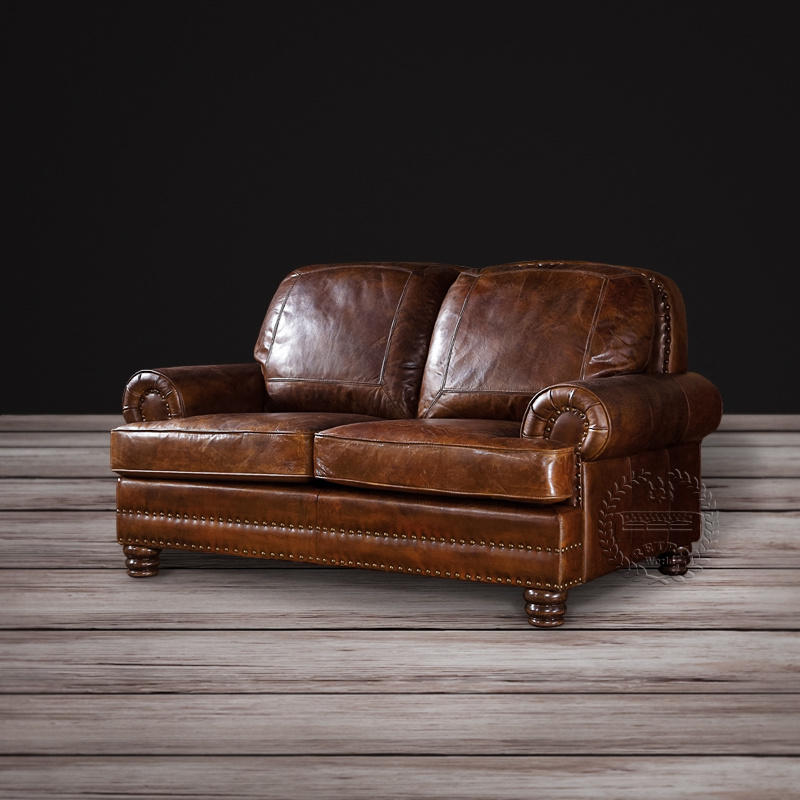 wood frame leather sofas oak grove sofa bed china classic full grain vintage fabric chesterfield