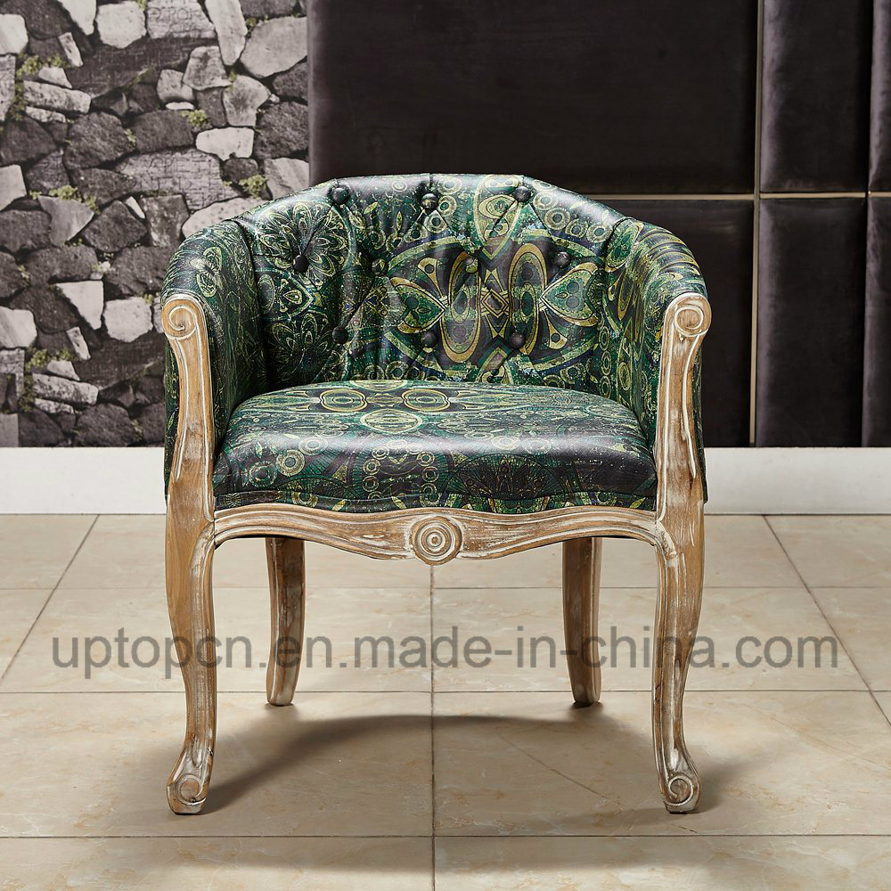 Upholstered Living Room Chairs Hot Item Elegant Living Room Chair With Emerald Upholstery And Armrest Sp Hc064