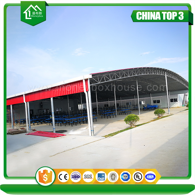 China Factory Price Prefabricated Metal Roof Framing Carport Peb