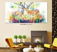 China Wall Art Decorative Tempered Glass Painting Photos ...