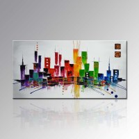 China Modern Home Decoration Wall Art Abstract Palette ...
