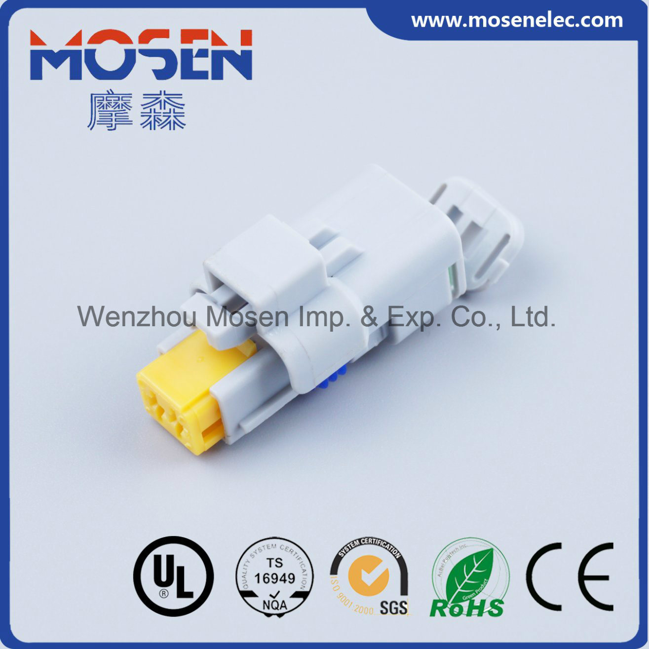 hight resolution of china grey 2 pin pbt female electrical auto wiring harness cable plastic connector 211pc022s8049 china fci connector delphi connector