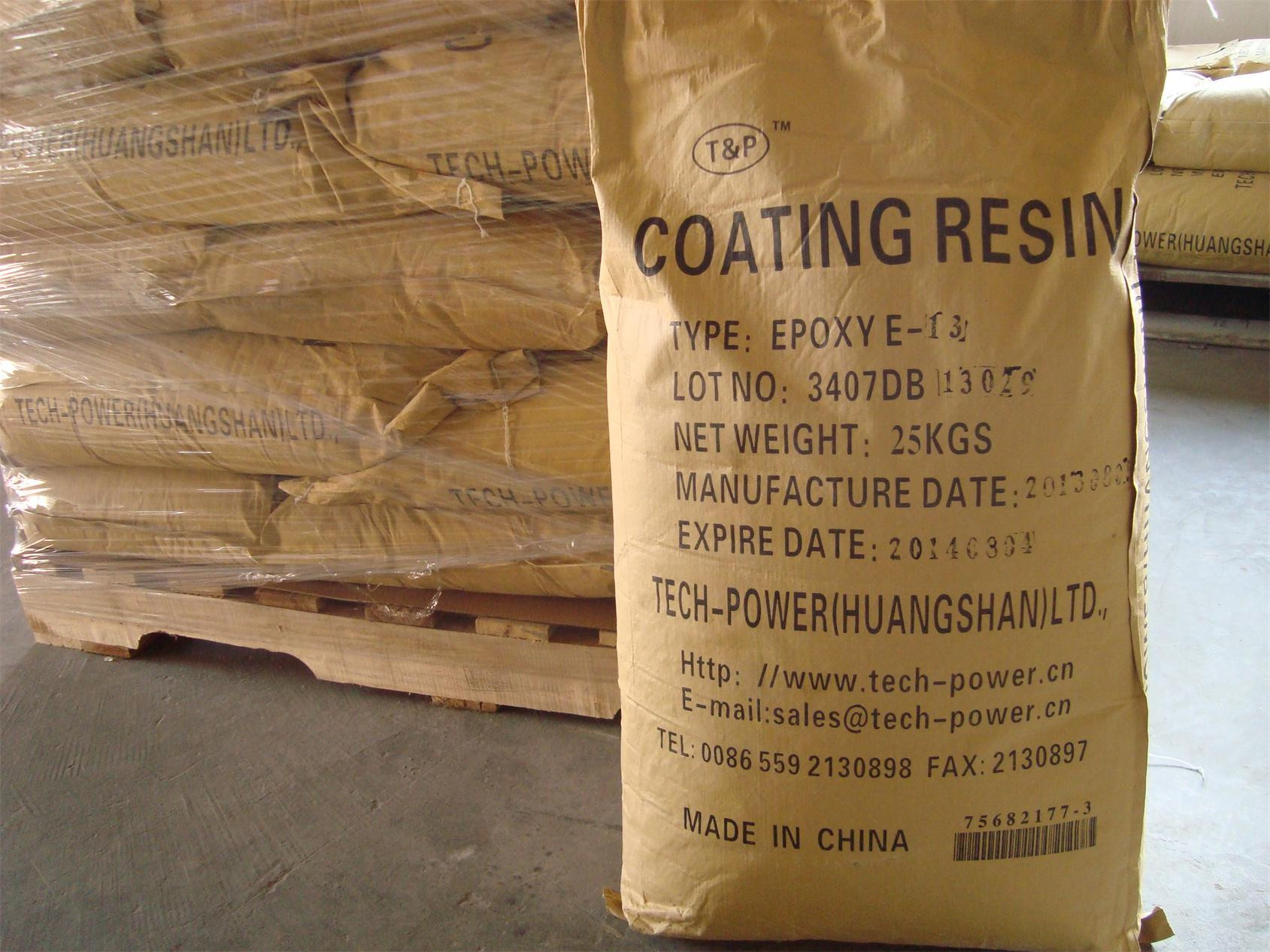 China Resin Suppliers