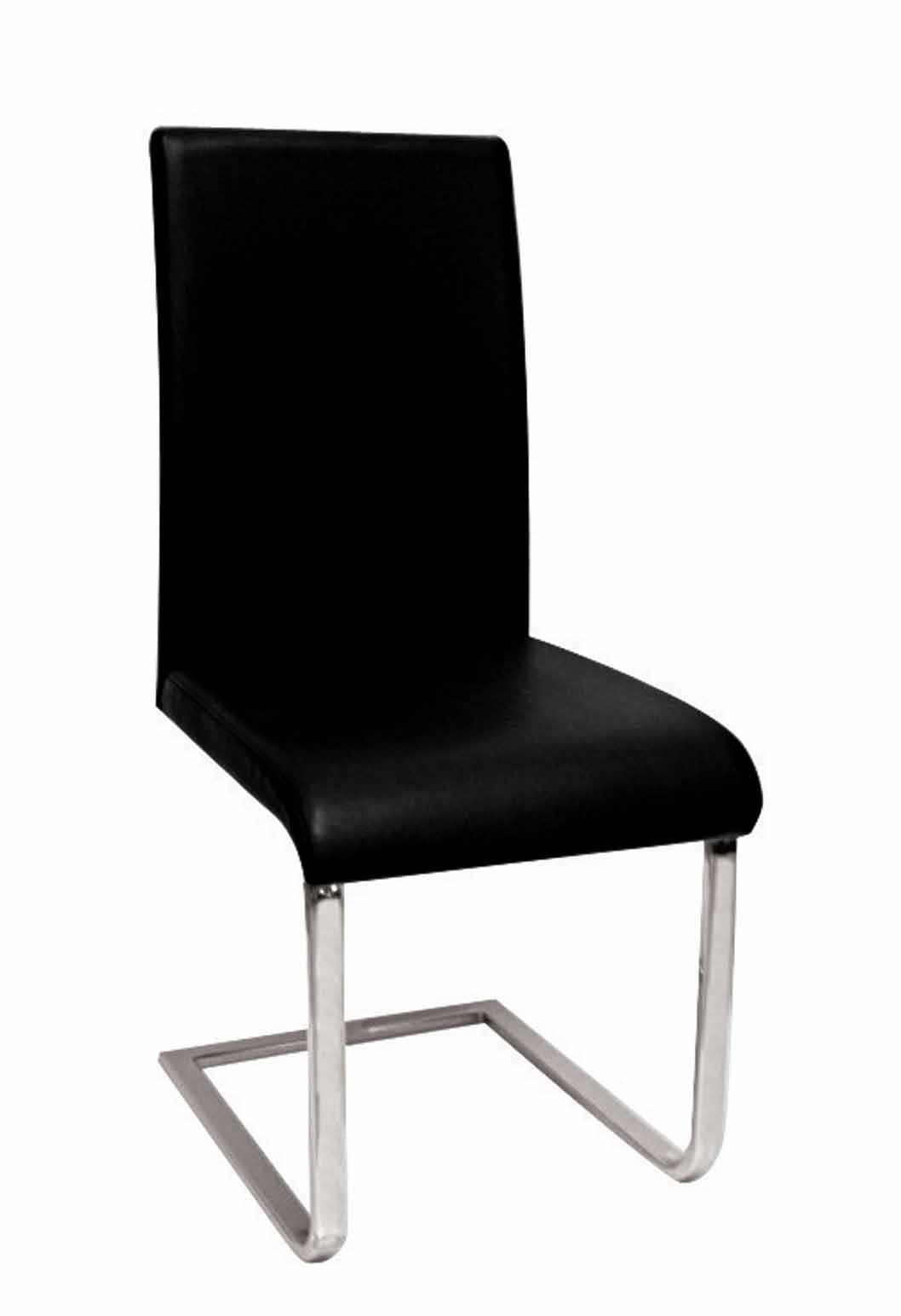 leather and chrome chairs writing desk chair dining  pads cushions
