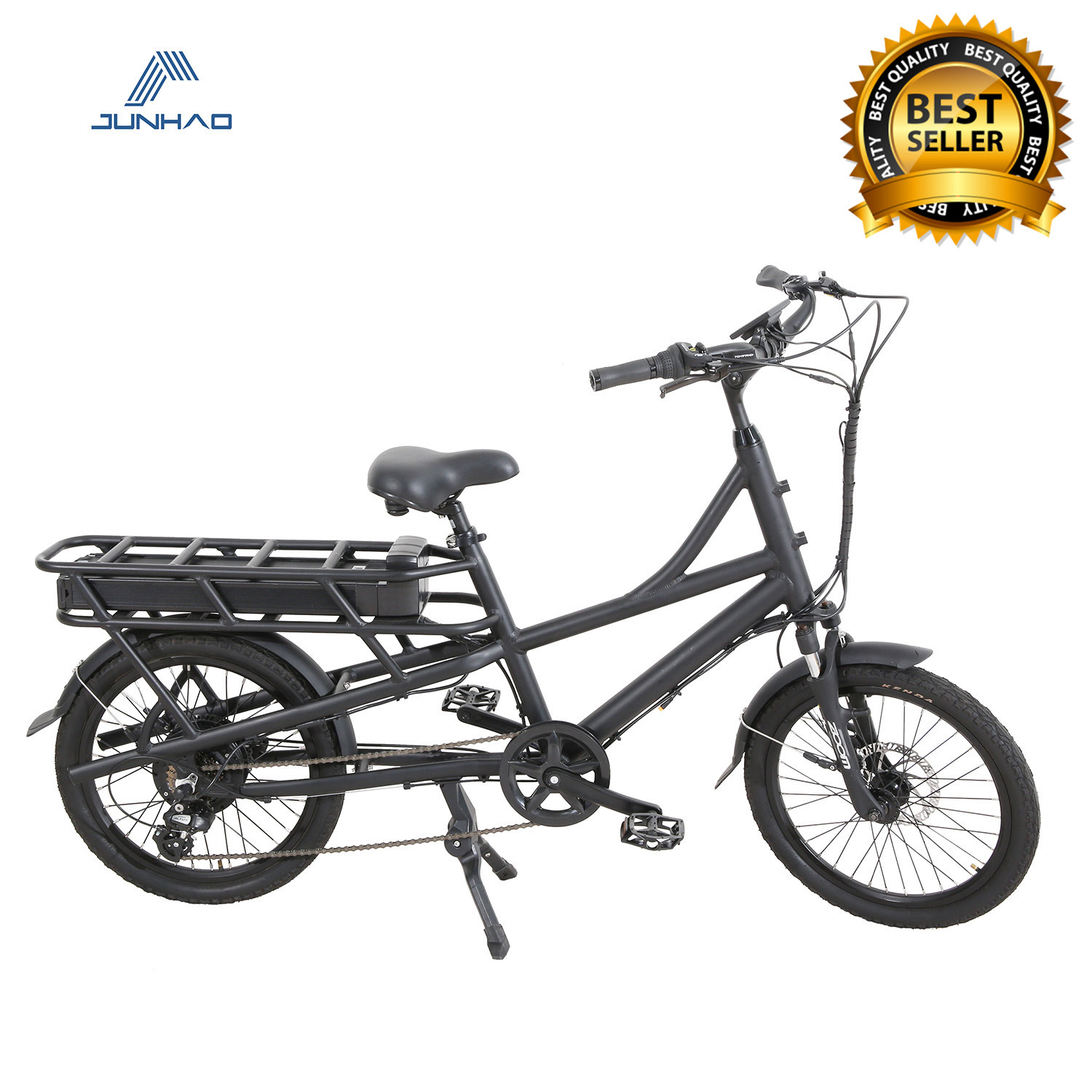 China Wholesale Electric Cargo Bike for Delivery with Rear