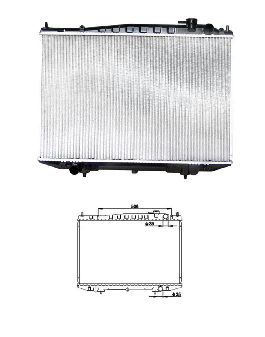 hight resolution of china after market cooling radiator fit for nissan frontier d22 navara pickup truck china 21410 2s400 21410 3s100