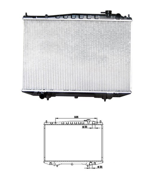 small resolution of china after market cooling radiator fit for nissan frontier d22 navara pickup truck china 21410 2s400 21410 3s100