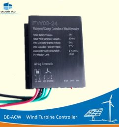 china delight de acw 300w 600w 12v 24v ip67 wind turbine generator charger controller china controller wind turbine controller [ 1000 x 1000 Pixel ]