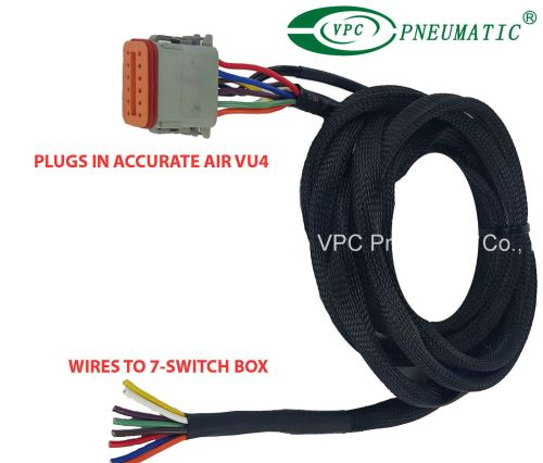 small resolution of china air ride suspension vu4 wiring harness connects valves to any avs switch box china air ride suspension air ride valve