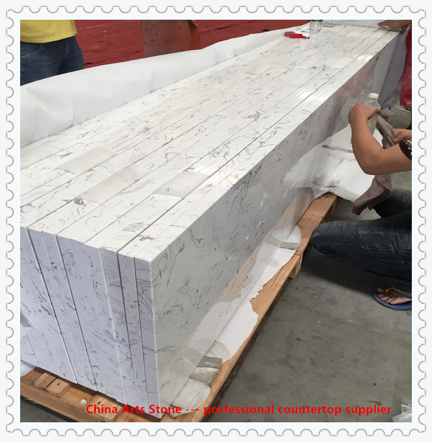 china honed polished white marble for
