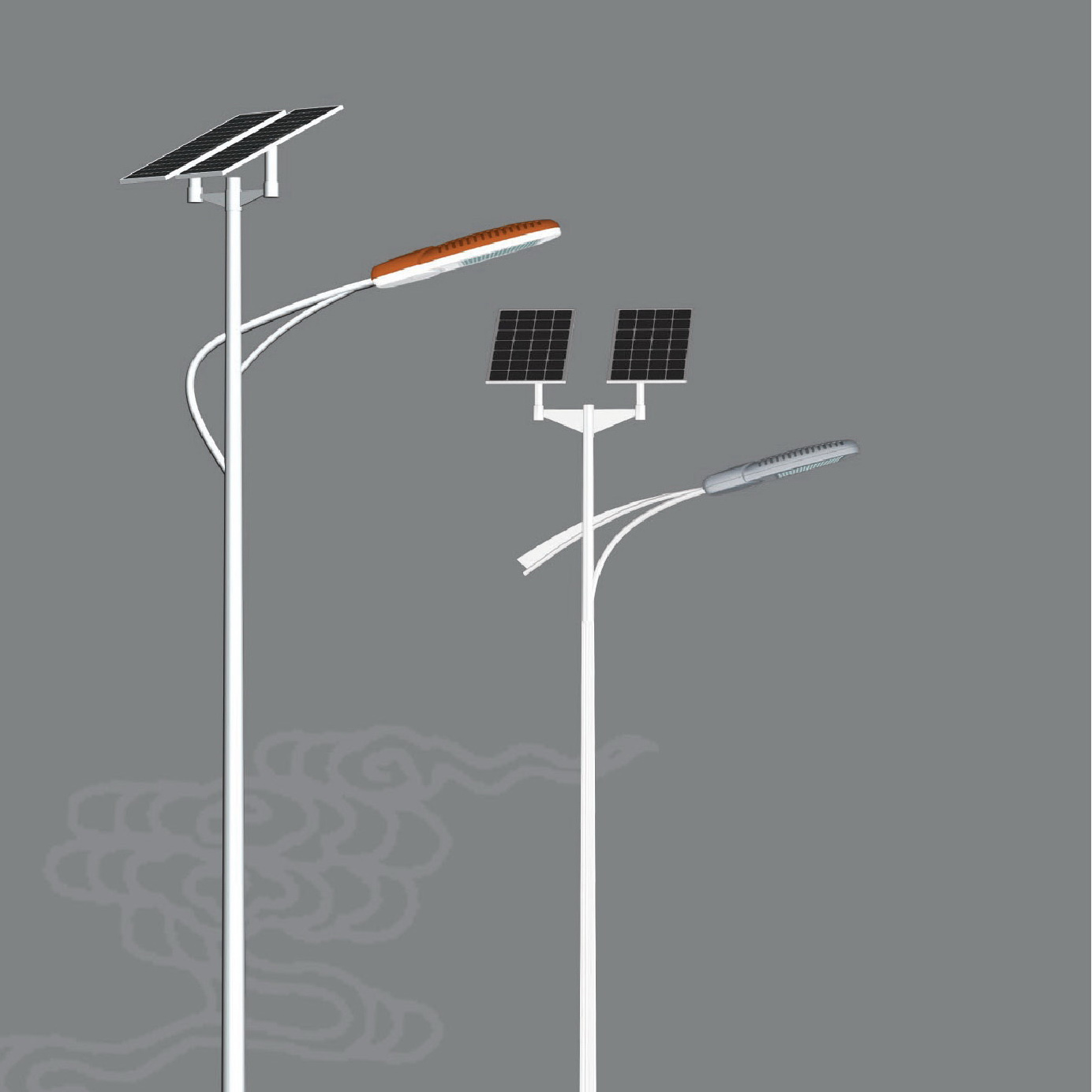 China LED Solar Street Light 30W 6m Pole (STL63635