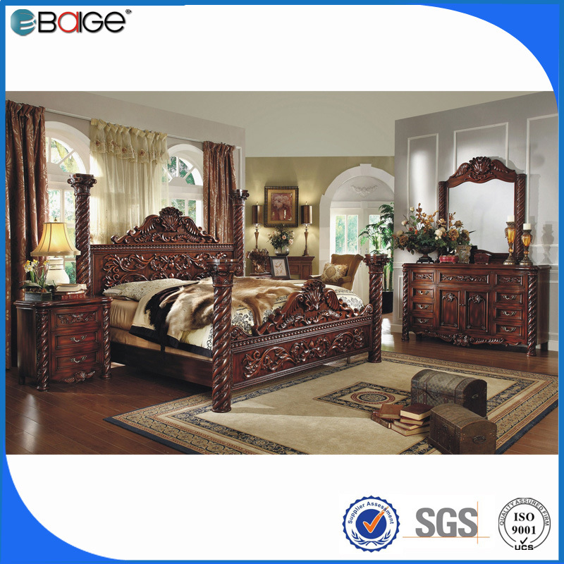China Luxury French Style Bedroom Furniture King Size Bed China King Size Bed King Bed