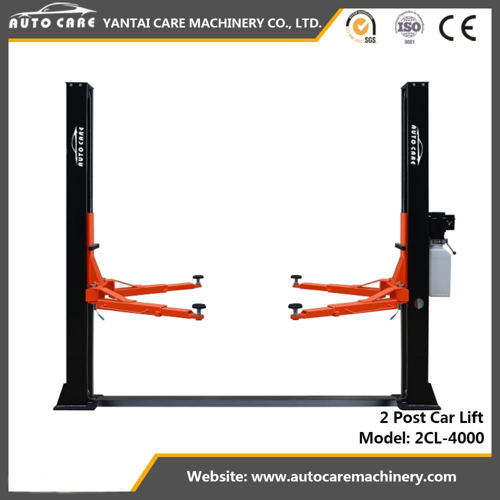 hight resolution of china 2 post car lift floorplate auto hoist manual release china 4 ton lift lift