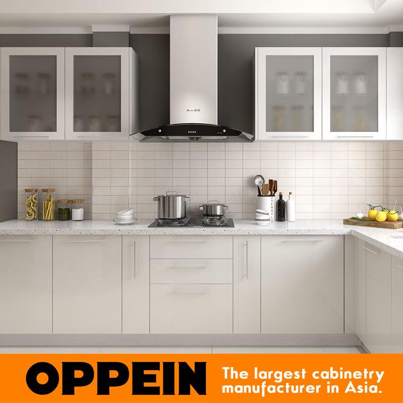 China Modern L Shaped Lacquer Wood Wholesale Modular Kitchen Units Op16 L02 China Kitchen Units Kitchen Cabinet
