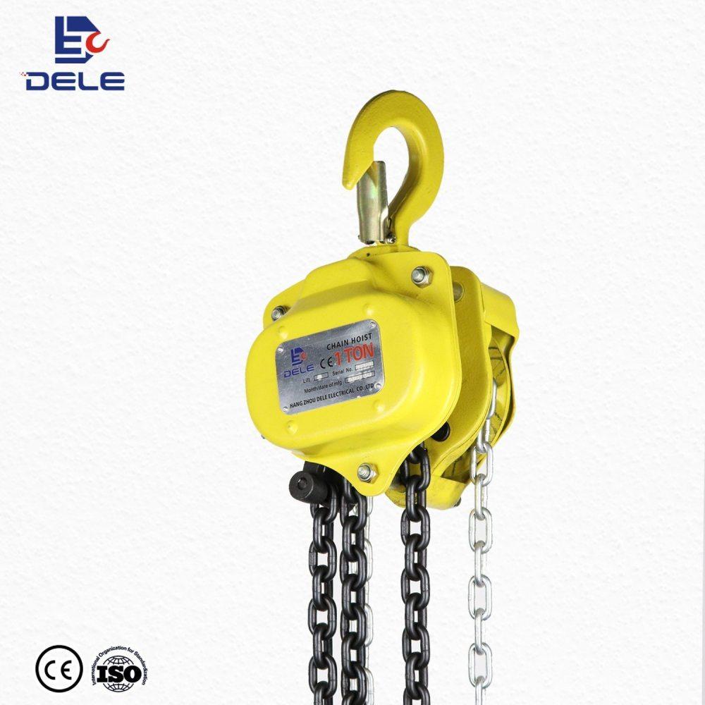 medium resolution of high quality china 2 ton manual lifting chain hoist block for sale