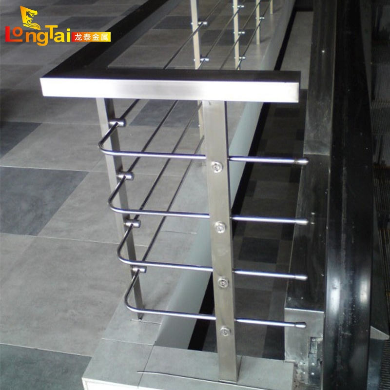 China Stainless Steel Stair Railing Handrail Balusters Flat Bar   Flat Handrail For Stairs   Code Compliant   Stainless Steel Flat Bar   Type 2   Top   Flat Iron