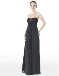 The gallery for --> Black Strapless Prom Dress