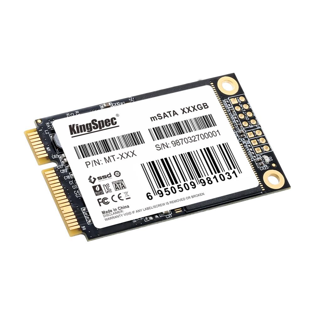 China Kingspec 512GB Msata SSD 3D MLC Nand Internal Solid