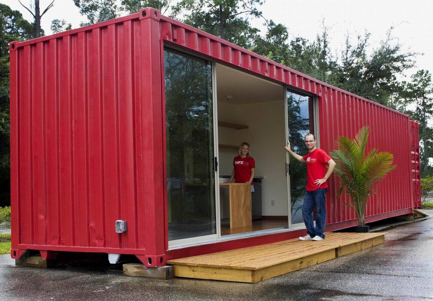 Used 40 shipping storage container for sale 1695 packrat promo code moving help discount - Are shipping container homes safe ...