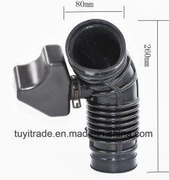 china brand new engine air intake hose for 2003 2007 kia sorento 281303e010 china engine air intake hose rubber air intake hoses [ 1000 x 1000 Pixel ]