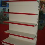Hot Item Supermarket Tegometall Gondola Shelf Shelving