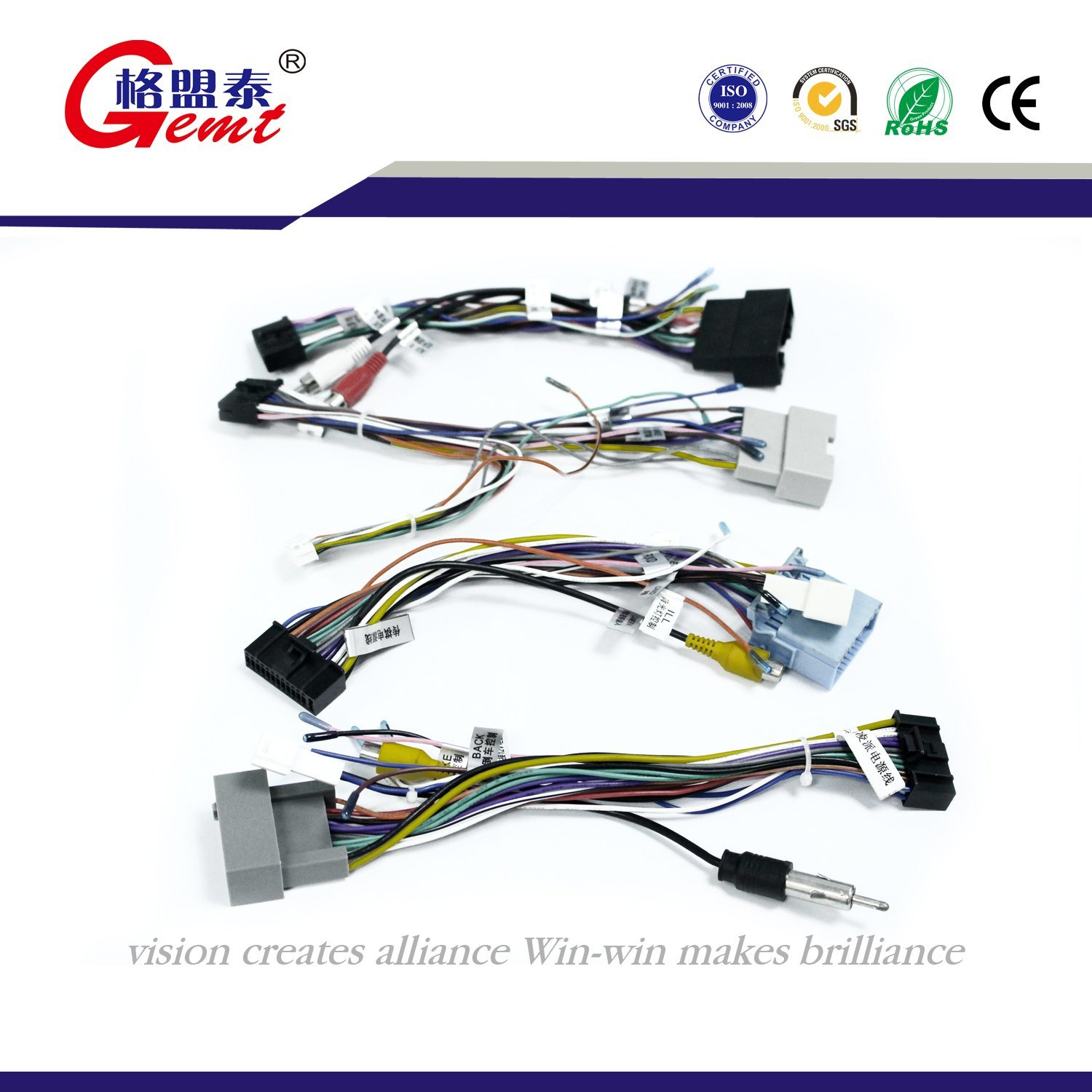 hight resolution of china 1 to 3 16 pin splitter extension connector adapter wire harness for car china auto wire car cable