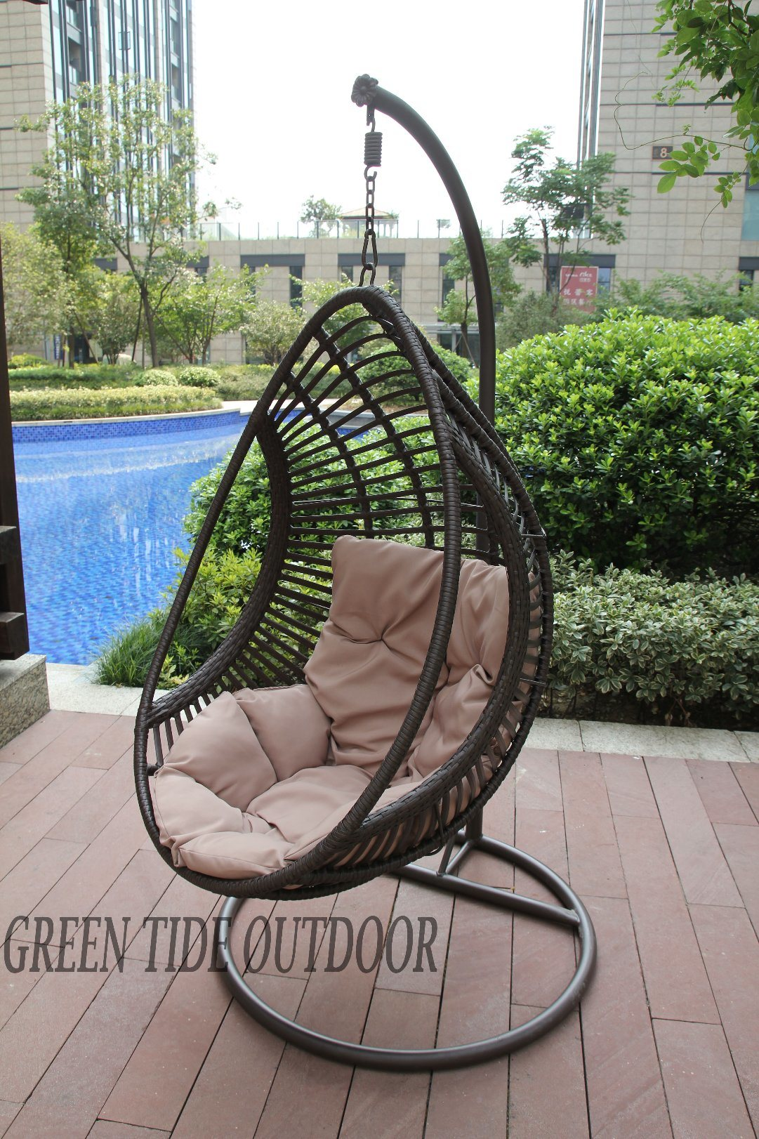 Hanging Patio Chair China Outdoor Garden Patio Home Furniture Rattan Drop Hanging