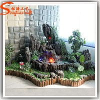 China Mini Garden Fountain Rockery Pool Decoration Indoor ...
