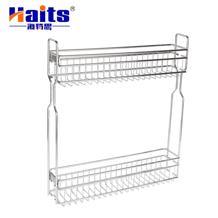 China Corner Kitchen Pantry Cabinet Wardrobe Storage Pull Out Wire Basket Photos Pictures Made In China Com