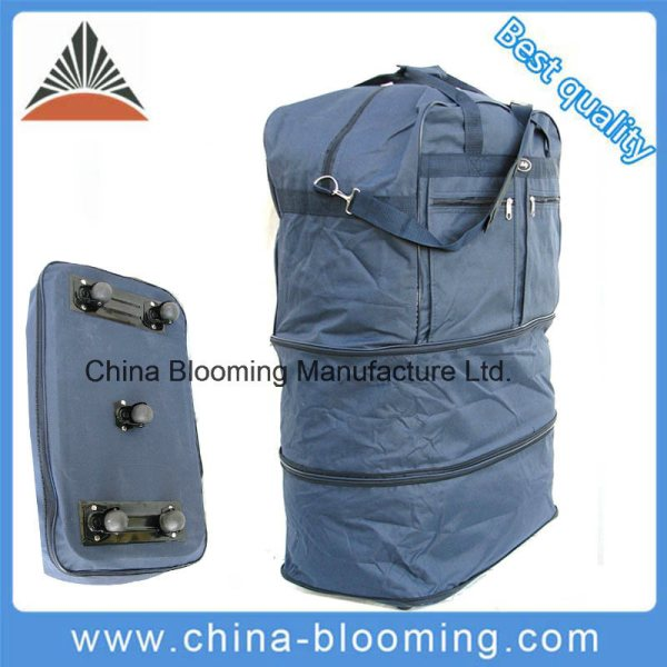 China Lightweight Travel Outdoor Rolling Wheeled Duffle