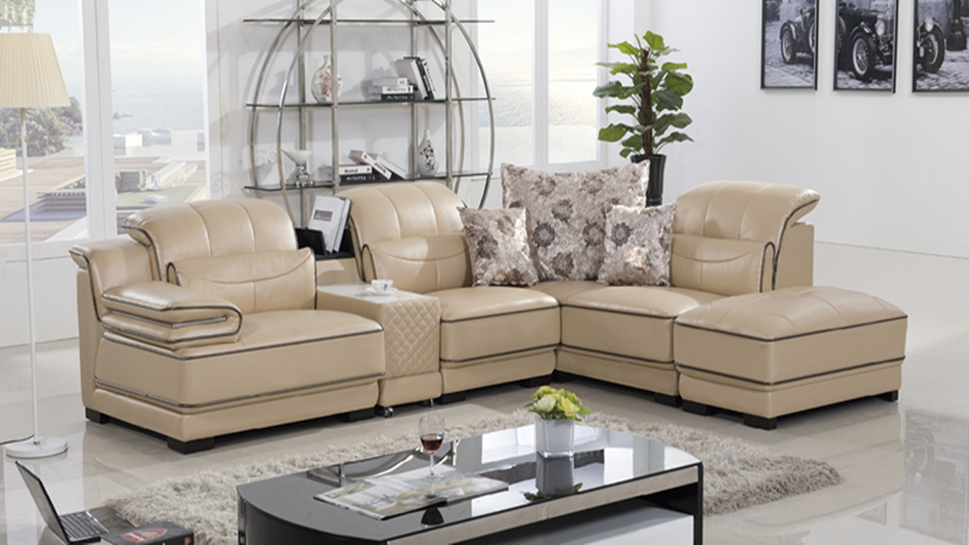 living room sofa sets from china cushion upholstery cost thailand leather set yj6831