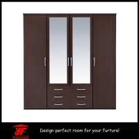 China Closet Bedroom Wall Design Simple Modern Wood Luxury ...
