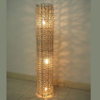 China Rattan Floor Lamp (RF002) - China light, lighting