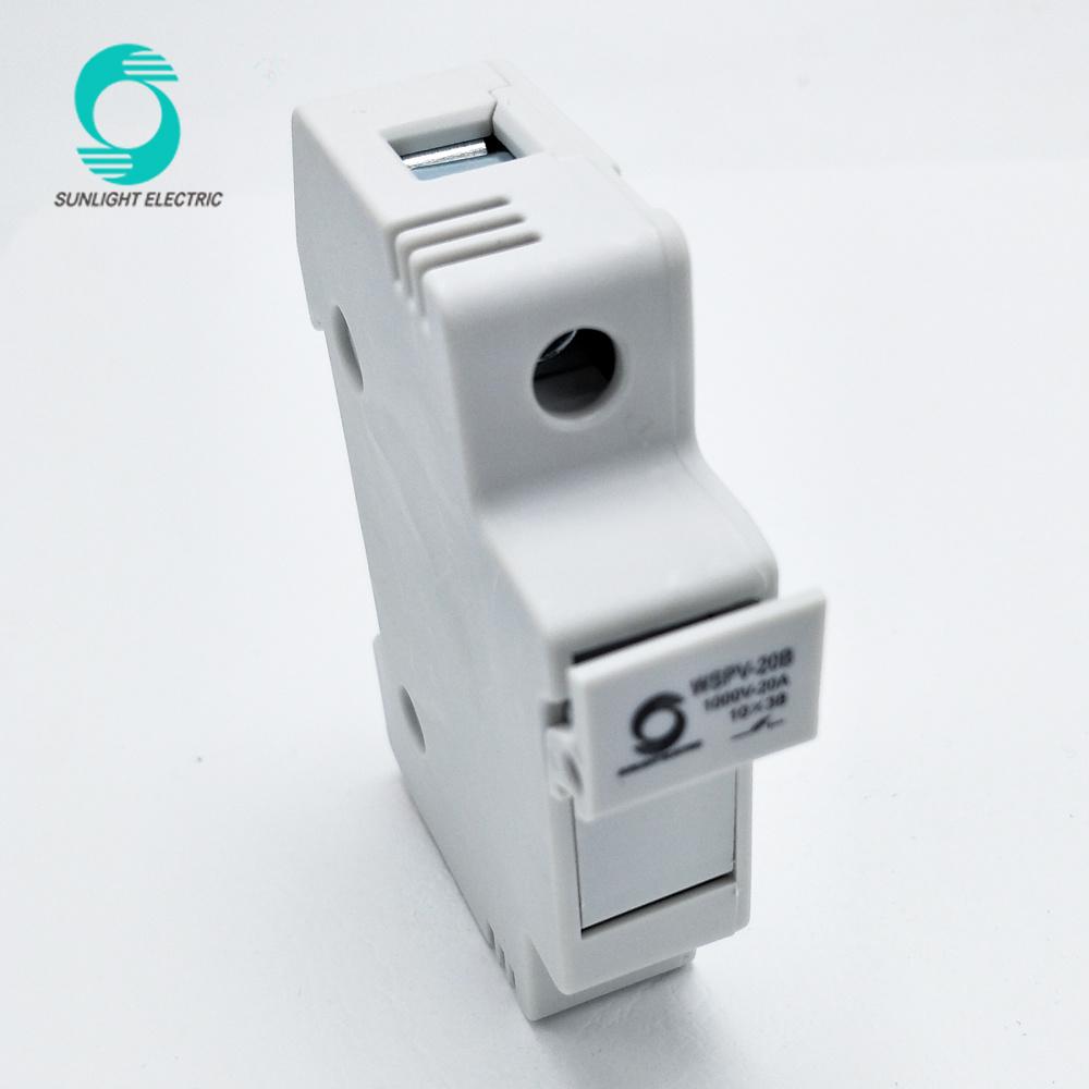 medium resolution of china wspv 20b ce tuv 1p dc solar pv fuse holder box for 20a 1000v dc fuse china dc fuse holder pv fuse holder