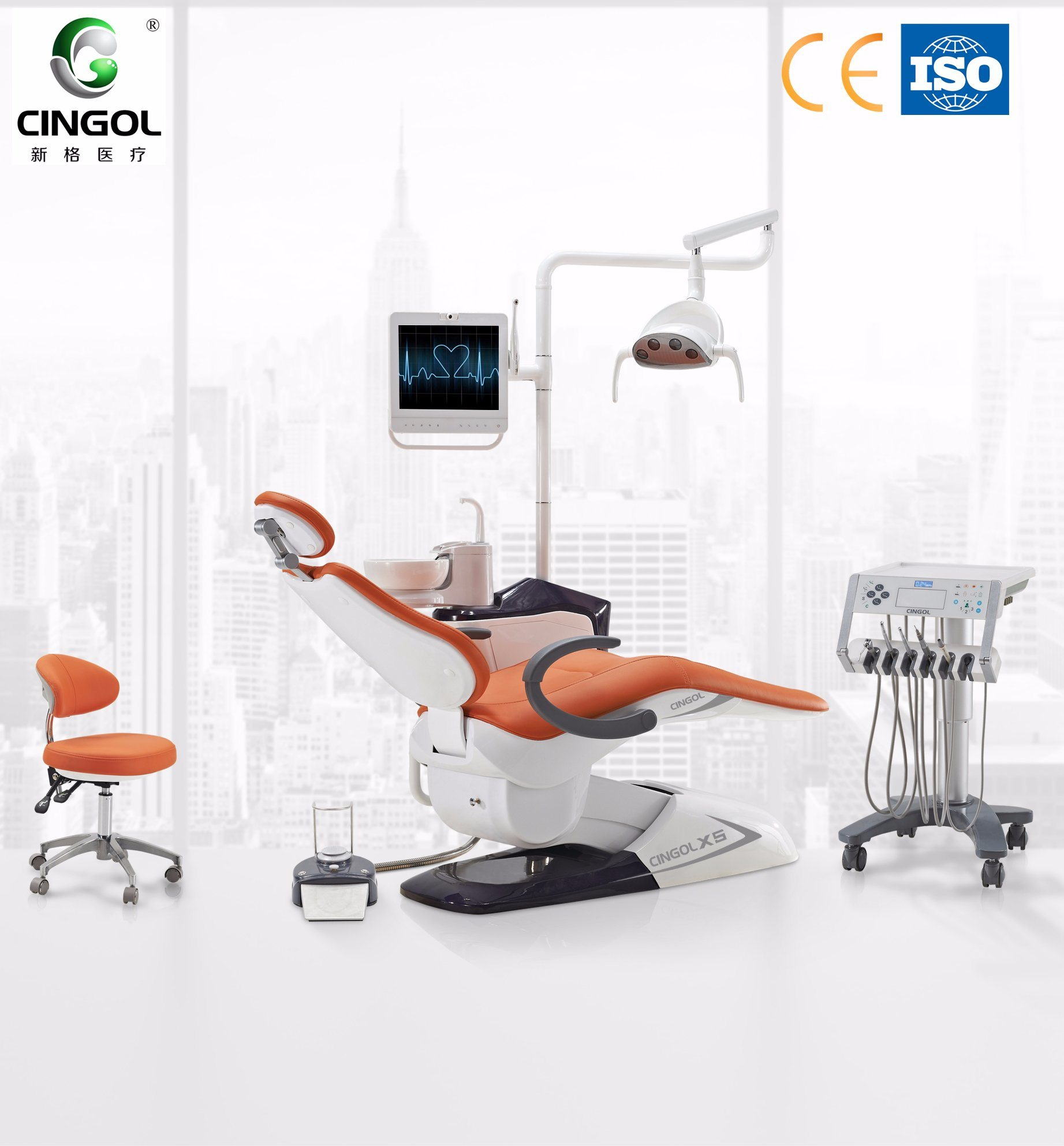 Dental Chairs Hot Item High Class Dental Chairs With Touch Screen Controll System