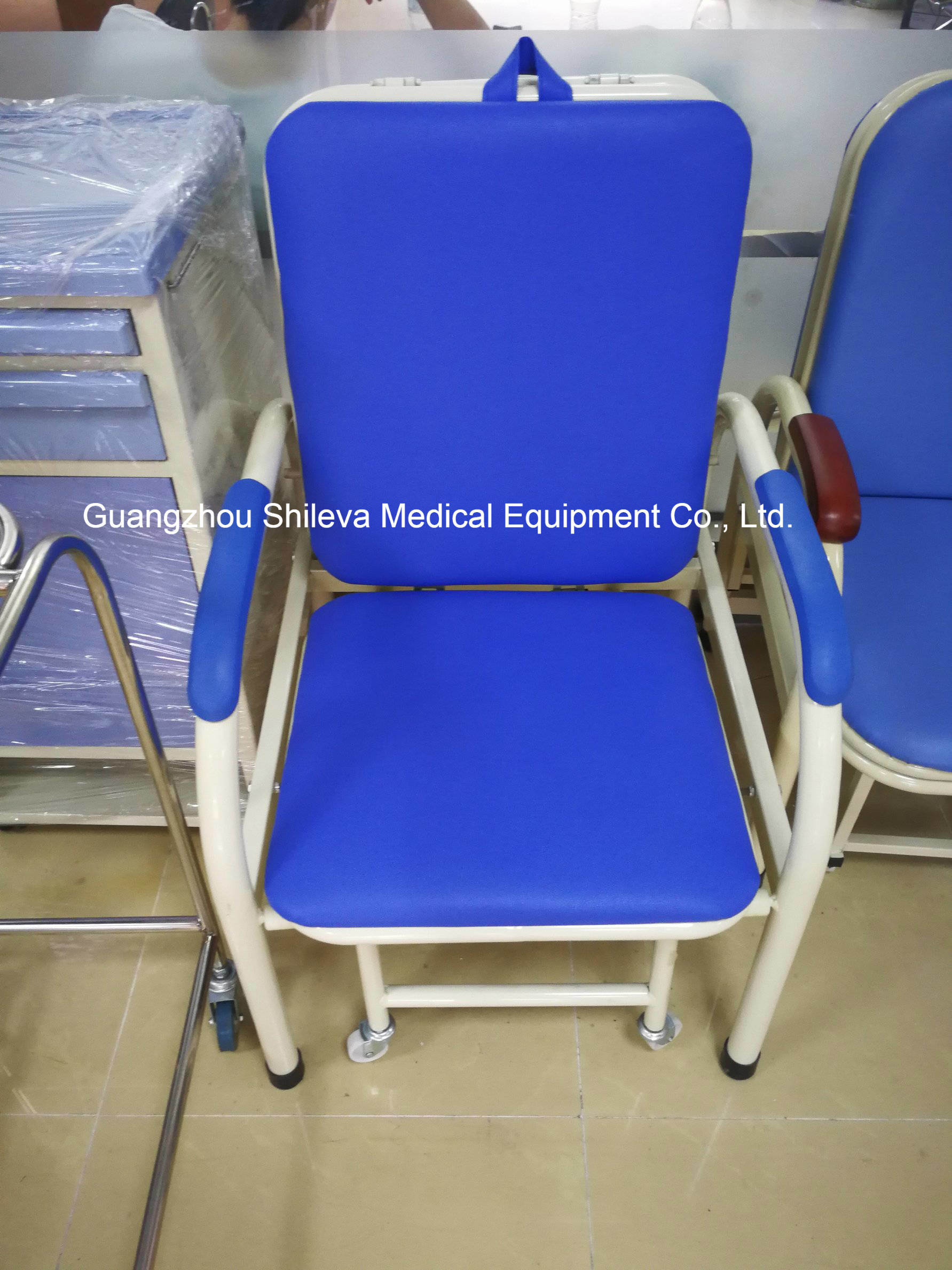 Folding Sleeping Chair China Foldable Hospital Ward Room Patient Accompany Attendant
