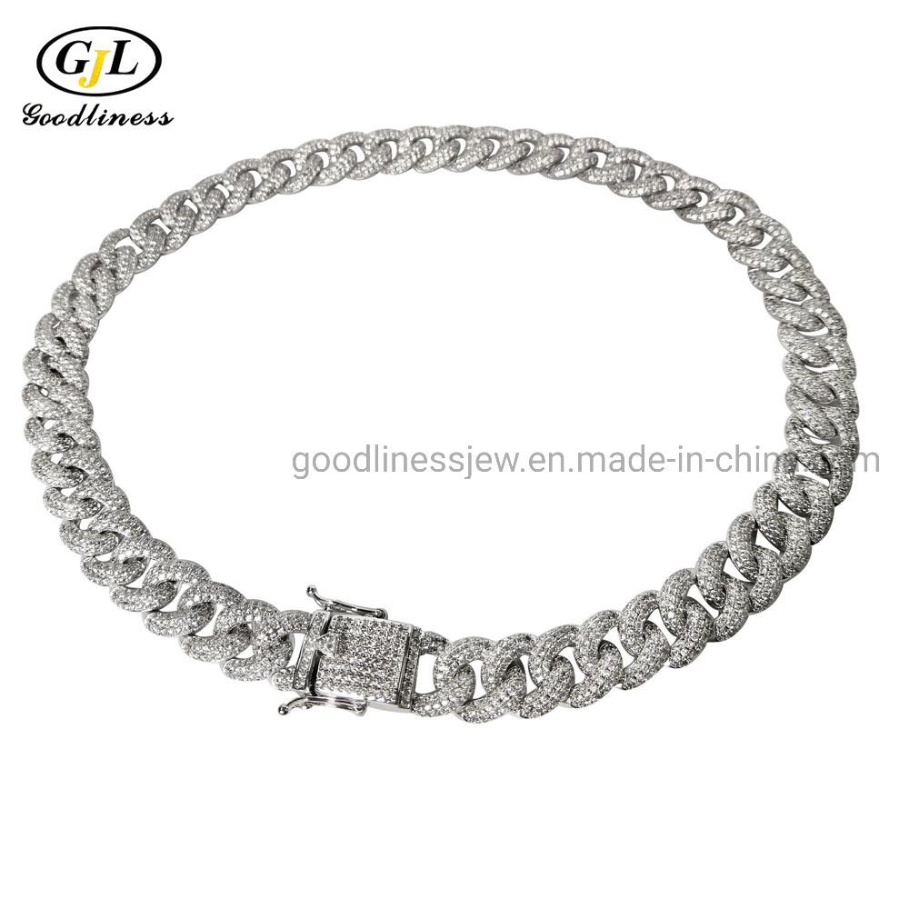 China Fashion Jewelry Hip Hope Man, Women 925 Sterling