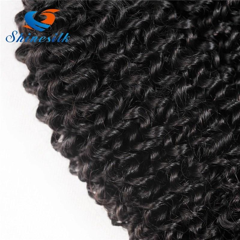 China Mongolian Kinky Curly Hair 100 Human Hair Weave Bundles