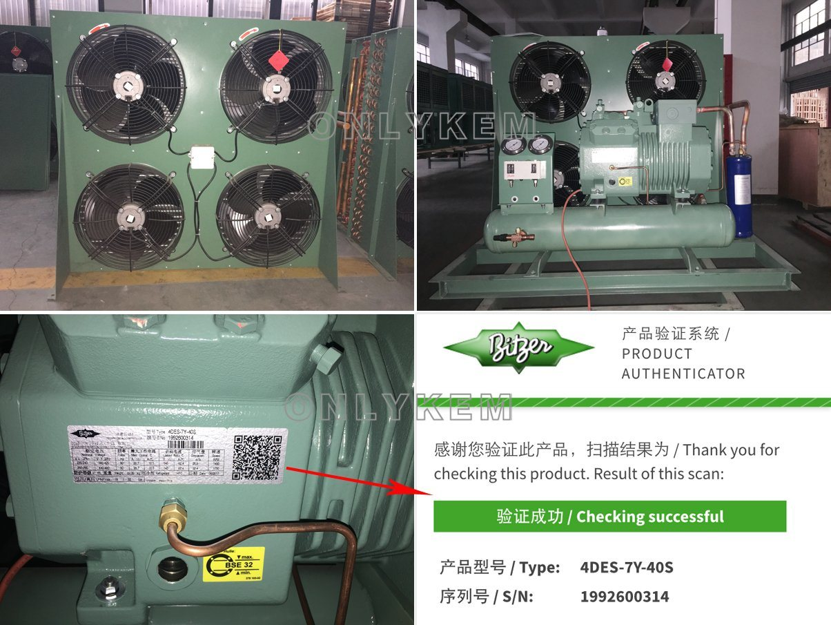 China Cold Room Cooling System Refrigeration Parts Thermostat Condensing Unit - China Cold Room Compressor. Refrigeration Parts
