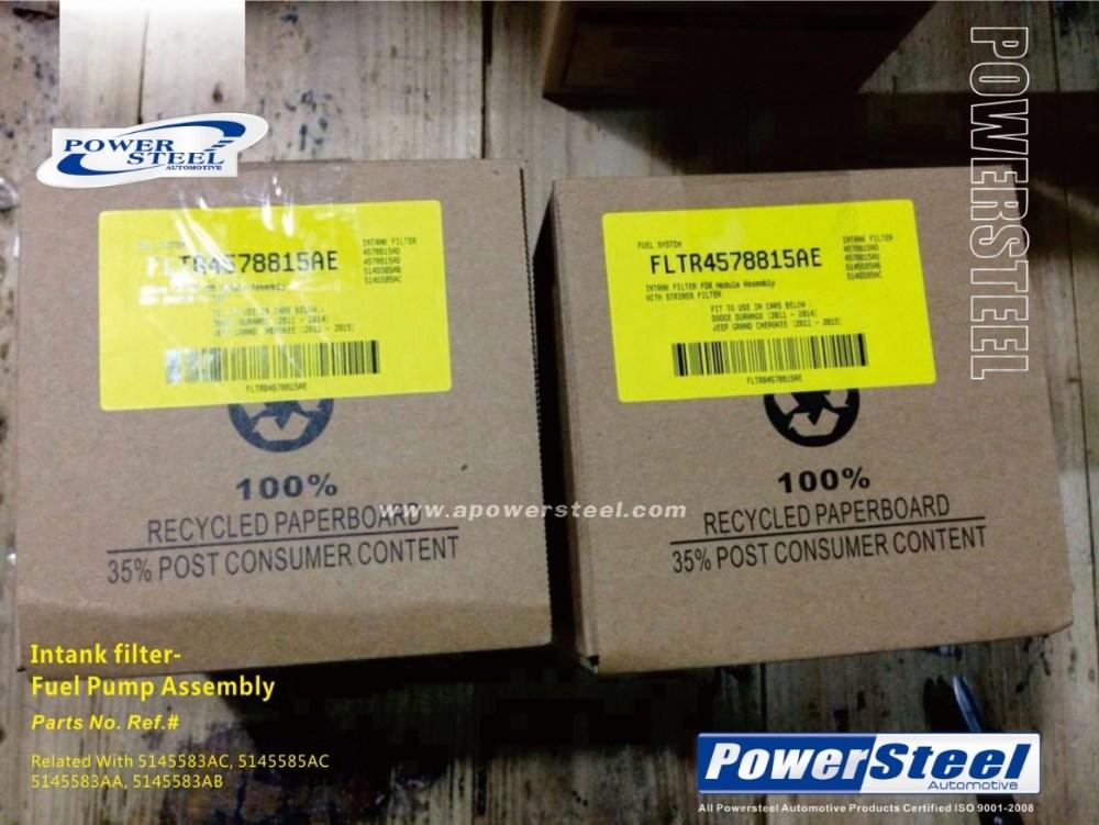 medium resolution of intank filter fuel pump assemb 5145583aa 5145583ab 5145583ac 5145585ac rl145583ab