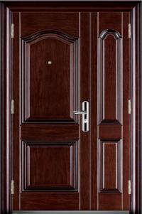 China Steel Security Doors (JC-FB6085) - China Steel Doors ...